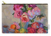 Roses And Apples Carry-all Pouch