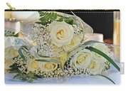 Roses And Baby Breath Carry-all Pouch