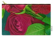 Roses And Carnations Carry-all Pouch