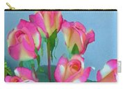 Roses And Flowers In A Vase Carry-all Pouch