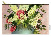Roses And White Lilacs Carry-all Pouch