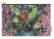 Roses And White Lilacs Digital Painting Carry-all Pouch