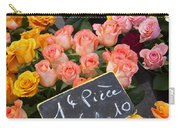 Roses At Flower Market Carry-all Pouch