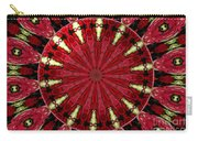 Roses Kaleidoscope Under Glass 11 Carry-all Pouch