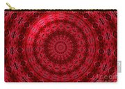 Roses Kaleidoscope Under Glass 13 Carry-all Pouch