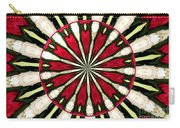 Roses Kaleidoscope Under Glass 17 Carry-all Pouch