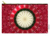 Roses Kaleidoscope Under Glass 19 Carry-all Pouch