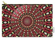 Roses Kaleidoscope Under Glass 21 Carry-all Pouch