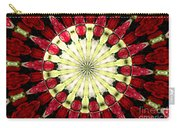 Roses Kaleidoscope Under Glass 23 Carry-all Pouch