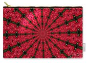 Roses Kaleidoscope Under Glass 24 Carry-all Pouch