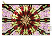 Roses Kaleidoscope Under Glass 25 Carry-all Pouch