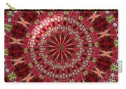 Roses Kaleidoscope Under Glass 30 Carry-all Pouch
