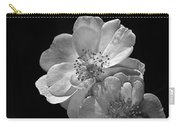 Roses On Black Carry-all Pouch