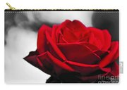 Rosey Red Carry-all Pouch