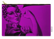 Rosie In Purple Carry-all Pouch