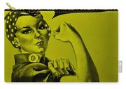 Rosie In Yellow Carry-all Pouch