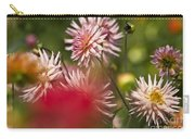 Rosy Dahlias Carry-all Pouch