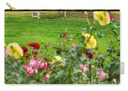Rosy View - Beautiful Rose Garden Of The Huntington Library. Carry-all Pouch