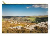 Rothbury Town From The Terraces Carry-all Pouch