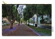 Rothschild Boulevard Carry-all Pouch by Ron Shoshani