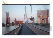 Rotterdam Downtown Skyline At Sunset Carry-all Pouch