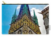 Rouen Church Steeple Carry-all Pouch