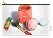 Rouge And Lipstick Still Life Carry-all Pouch