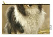 Rough Collie Dog Carry-all Pouch