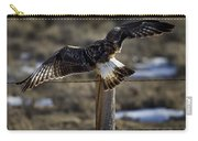 Rough-legged Hawk   #1865 Carry-all Pouch