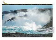 Rough Waves Offshore Whale Point Carry-all Pouch