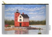 Round Island Light House Carry-all Pouch