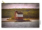 Round Island Lighthouse Carry-all Pouch
