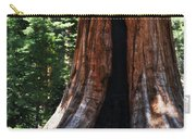 Round Meadow Giant Sequoia Portrait Carry-all Pouch