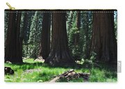Round Meadow Sequoia Family Carry-all Pouch