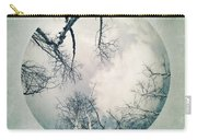 round treetops I Carry-all Pouch by Priska Wettstein