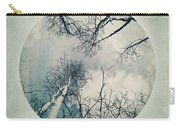 round treetops II Carry-all Pouch by Priska Wettstein
