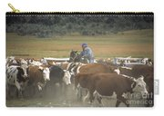 Cattle Round Up Patagonia Carry-all Pouch