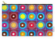 Round Up The Squares Carry-all Pouch
