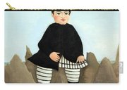 Rousseau's Boy On The Rocks Carry-all Pouch