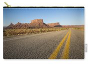 Route 128 Near Castle Valley Carry-all Pouch by Adam Romanowicz