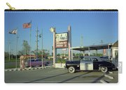 Route 66 - Anns Chicken Fry House Carry-all Pouch by Frank Romeo
