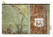 Route 66 Brick And Mortar Carry-all Pouch