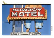 Route 66 - Cowboy Motel Carry-all Pouch