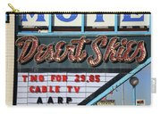Route 66 - Desert Skies Motel Carry-all Pouch