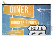 Route 66 Diner Carry-all Pouch