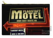 Route 66 Flagstaff Motel Carry-all Pouch