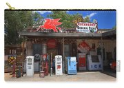 Route 66 - Hackberry General Store Carry-all Pouch by Frank Romeo