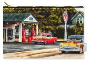 Route 66 Historic Texaco Gas Station Carry-all Pouch