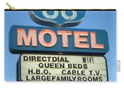 Route 66 Motel Sign 3 Carry-all Pouch
