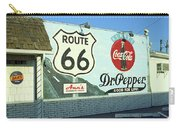 Route 66 - Mural With Shield Carry-all Pouch